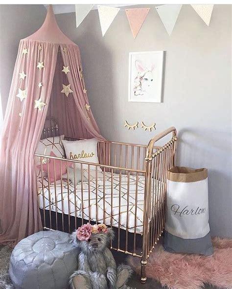 babykamer inspiratie roze grijs babykamer goud inspiratie voor luxe babykamers met goud