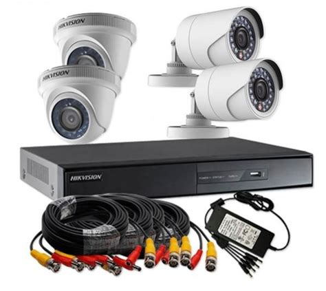 hikvision turbo hd 720p 4 channel cctv kit ds j1421 souq uae