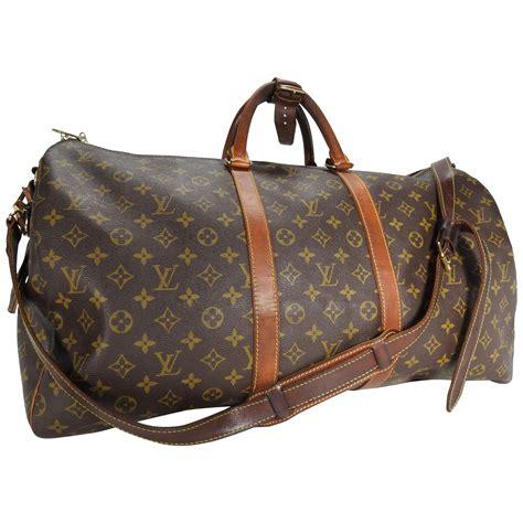 louis vuitton monogram holdall luggage bag  sale  stdibs