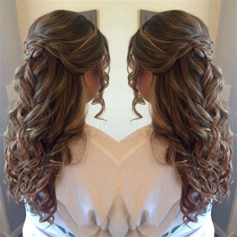 HD wallpapers hairstyles for prom half up half down with braids