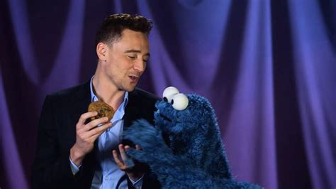 This Video Of Tom Hiddleston Teaching Cookie Monster About