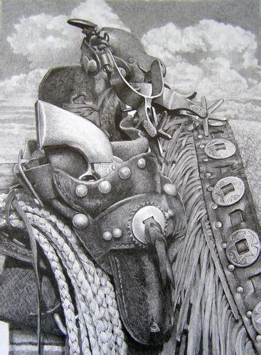 cowgirls  guns pencil drawings drawing cowboy