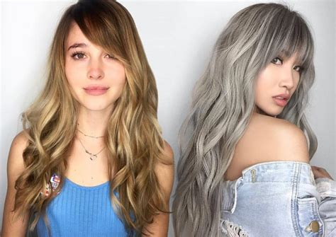 Photos Of Long Hairstyles With Bangs
