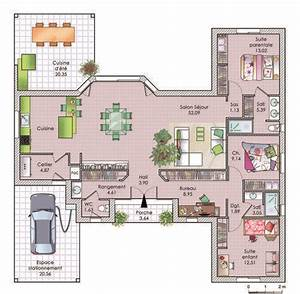 1000 ideas about maison plain pied on pinterest plan With superior faire plan de sa maison 1 maison darchitecte 1 detail du plan de maison d