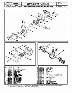 Husqvarna 136 141 Chainsaw Parts Manual  2002 2003 2004