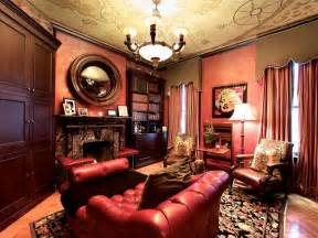 Mens Bedroom Themes by 12 Dreamy Home Libraries Hgtv
