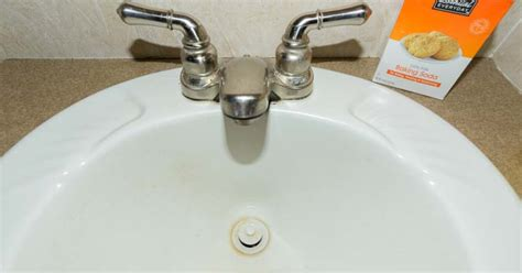 rv kitchen sink drain rv plumbing tips cleaning rv faucets sink drains