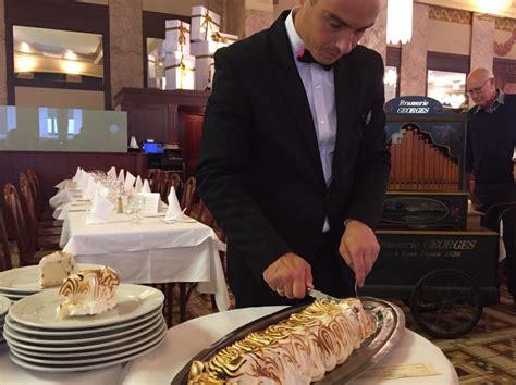 spécialité lyonnaise cuisine la brasserie georges restaurant lyon horaires téléphone avis lyonresto