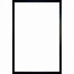 Grand Cadre Pas Cher : cadre pour poster en plastique noir effet bois grand format 61 x 91 5cm achat vente ~ Teatrodelosmanantiales.com Idées de Décoration