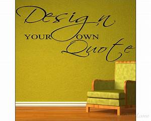 custom wall decal quotes get custom wall quotes vinyl With custom wall lettering
