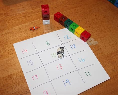 preschool math for learning larger numbers 774 | counting game
