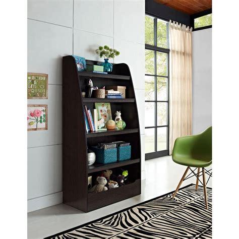 white childrens bookshelf altra furniture espresso bookcase 9627096 the 1014