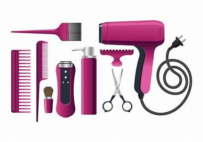 Vector Salon Equipment Hairdresser Hair Clipart Vectors