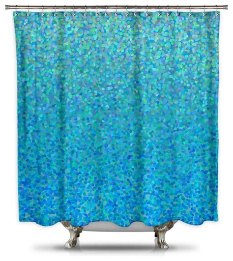 teal colored shower curtains pmcshop