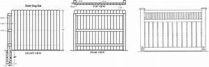 Woodwork Fence Blueprints Pdf Plans
