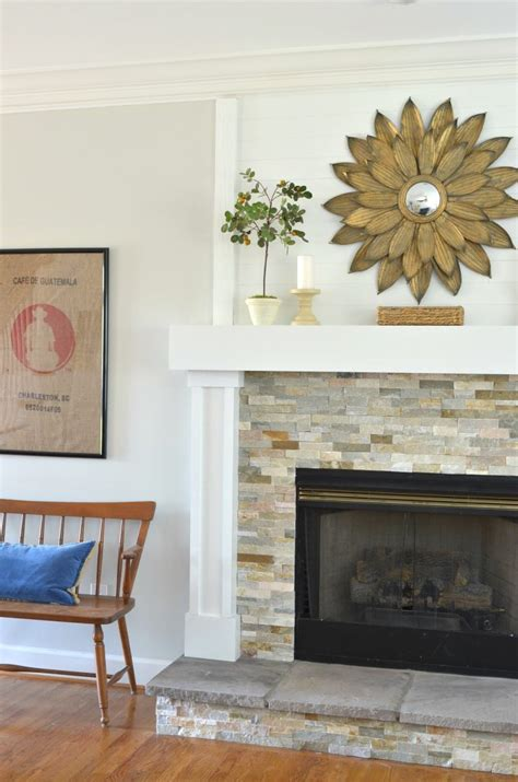 fireplace mini diy fireplace makeover at home with the barkers
