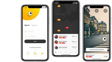 design dapplication mobile ios  satisfait designs