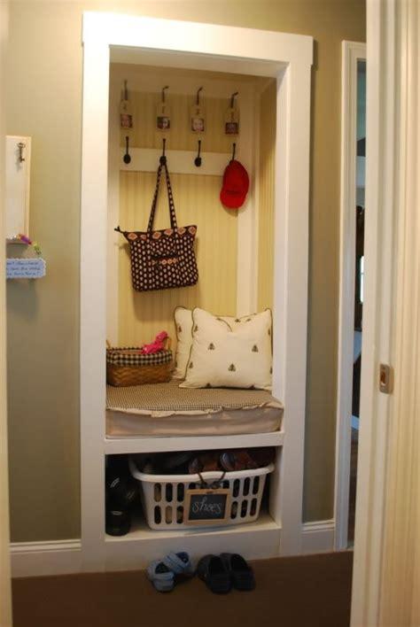 shallow closet organization