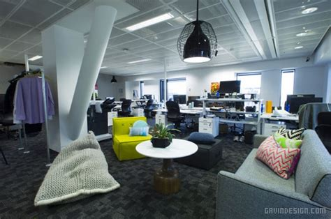 U Home Interior Design Facebook : 澳大利亚悉尼 Facebook 办公室设计