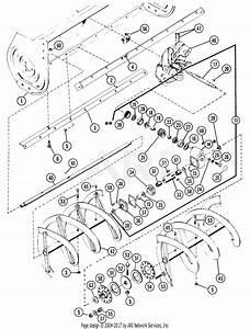 Gravely 38736 48 U0026quot  Snow Blower 7173h Tractor Parts Diagram