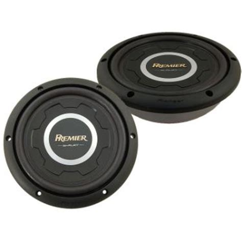 """Pioneer Premier Tssw1201s4 12"""" 1500w Svc 4ohms Shallow Series Subwoofer At Onlinecarstereocom"""
