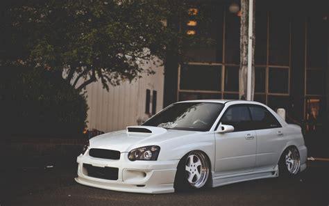 Subaru Impreza White Tuning Car Wallpaper 1680x1050 17932