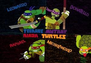 2019 Teenage Mutant Ninja Turtles Bg Colored By