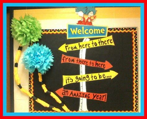 seuss bulletin board for beginning of year classroom 391 | 0f69b3cb0623443f1d287d79b3b61c8e