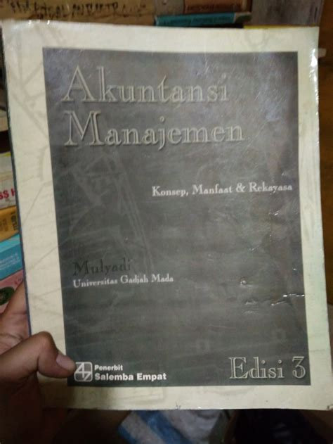jual buku akuntansi manajemen edisi  karya mulyadi
