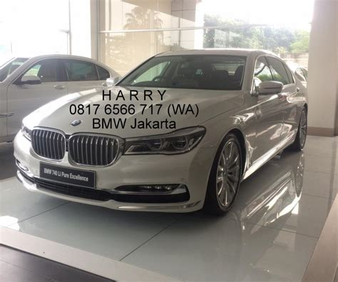 7 Series All New Bmw 740 Li Pure Excellence 2016 Skd