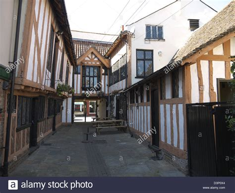 Ipswich Sheds by Timber Framed Tudor Buildings Ipswich Suffolk Stock