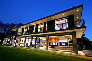 Luxury and Large Contemporary House Home, Building