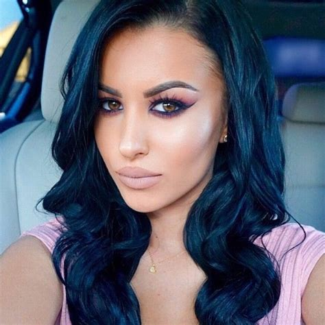 24 Best Images About Dark Blue Hair On Pinterest