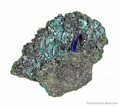Specimen Mineral Malachite Azurite D16c Olivenite Minerals