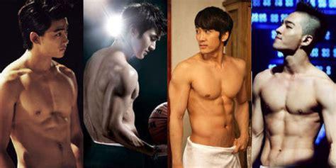 bagzhopp fashion shop 10 selebriti pria korea dengan tubuh paling hot