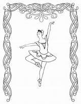 Coloring Irish Dance Dancing Coloringhome sketch template