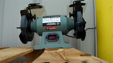 delta bench grinder govdeals delta model 23 660 6 quot thin line bench grinder
