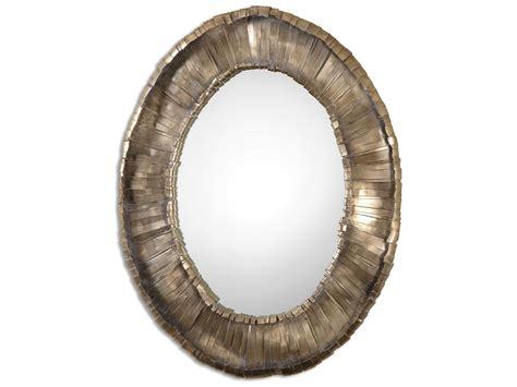 Uttermost Vevila 33 X 41 Oval Wall Mirror