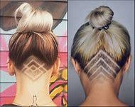 Undercut Design Hairstyles for Women