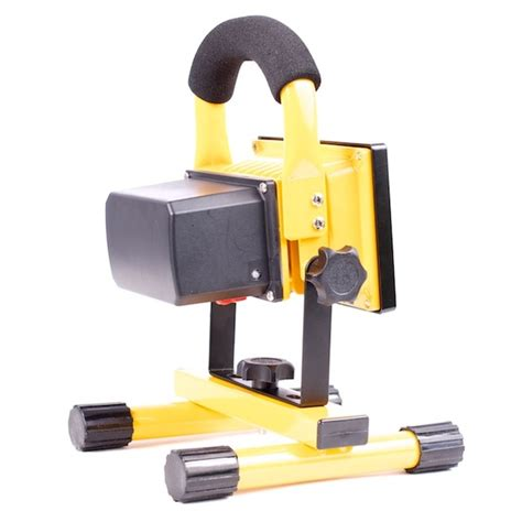 battery led work light portable 10w led work light with rechargeable lithium