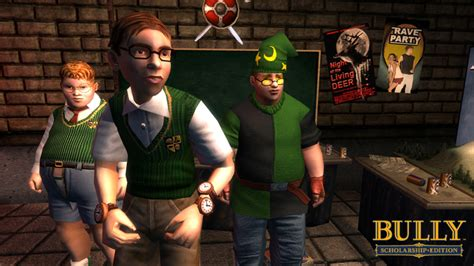 Bully Scholarship Edition on Game and Player