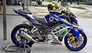 Modifikasi Yamaha New Vixion Lightning Half Fairing