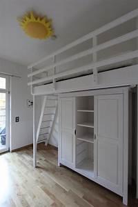 Hochbett Mit Integriertem Kleiderschrank : hochbett ber einem kleiderschrank dein tischler in leipzig dein tischler in leipzig ~ Bigdaddyawards.com Haus und Dekorationen