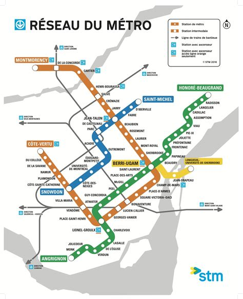 Carte Métro 2018 by Map Of The Week Montr 233 Al Metro 187 The Urbanist