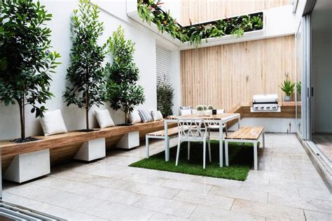 contemporary outdoor kitchen cooking fresh is easy in modern outdoor kitchens 2540