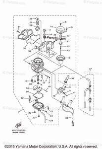 Yamaha Atv 2012 Oem Parts Diagram For Carburetor