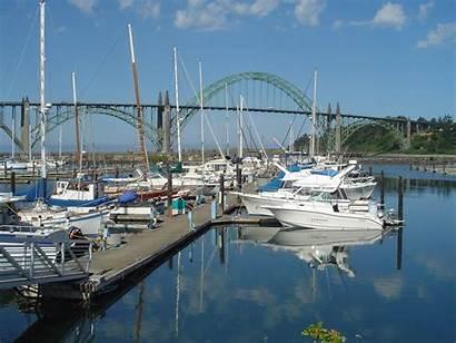 Newport Oregon Port Bay Wikipedia Yaquina Route