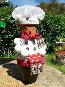 Creation Avec Des Pots De Fleurs : image result for cr ations avec des pots fleurs clay ~ Melissatoandfro.com Idées de Décoration