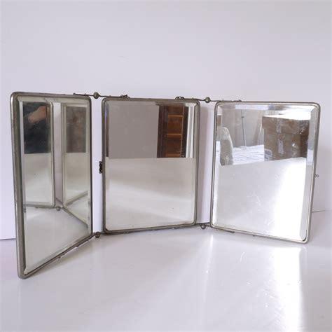 Tri Fold Bathroom Wall Mirror by Barber Three Panel Folding Mirror Triptych Tri Fold