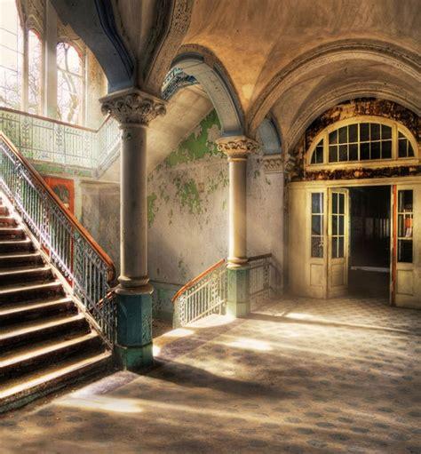 vintage  building french window sunlight fantasy